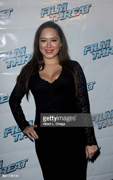 Heather Dorff at the Launch Party For 'Film Threat' Online held at The Berrics on January 14 2017 in Los Angeles California