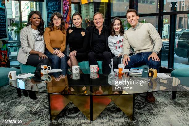 Heather Dubrow and Terry Dubrow discuss their book The Dubrow Diet during Build Brunch at Build Studio on January 21 2019 in New York City