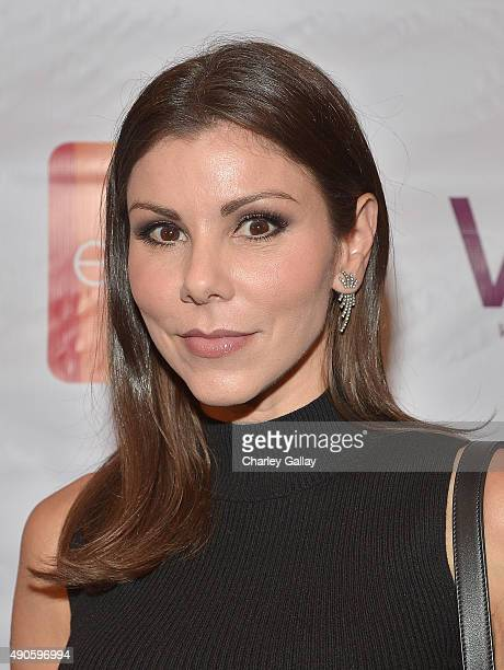 Heather Dubrow attends Celebrating The Women Of EVINE Live at Villa Blanca on September 29 2015 in Beverly Hills California
