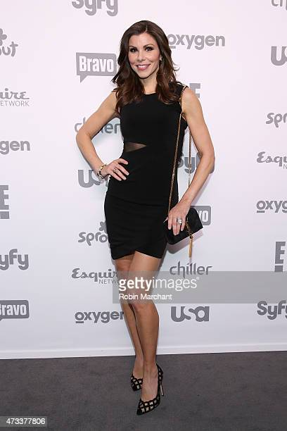 Heather Dubrow attends the 2015 NBCUniversal Cable Entertainment Upfront at The Jacob K Javits Convention Center on May 14 2015 in New York City