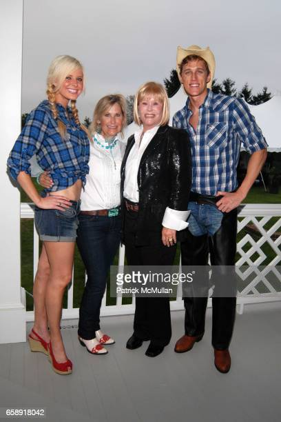 Heather Fryer Nicole Sexton Marlyne Sexton and Jarrett Bell attend BEST BUDDIES Hamptons Gala at Home of Anne Hearst McInerney and Jay McInerney on...