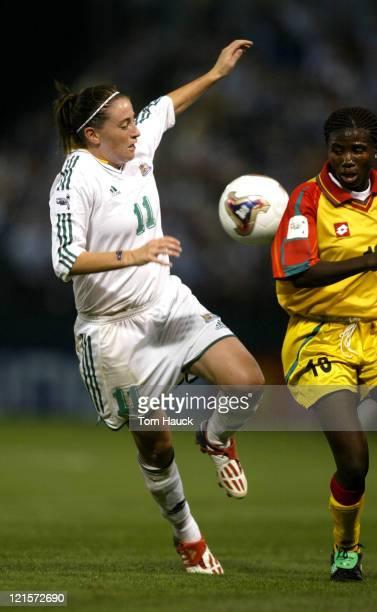 Heather Garriock of Australia in Group D match Ghana defeats Australia 21 at PGE Park in Portland Oregon