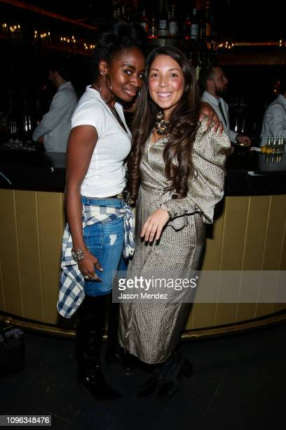Heather Grabin at Playboy Club New York on February 8 2019 in New York City