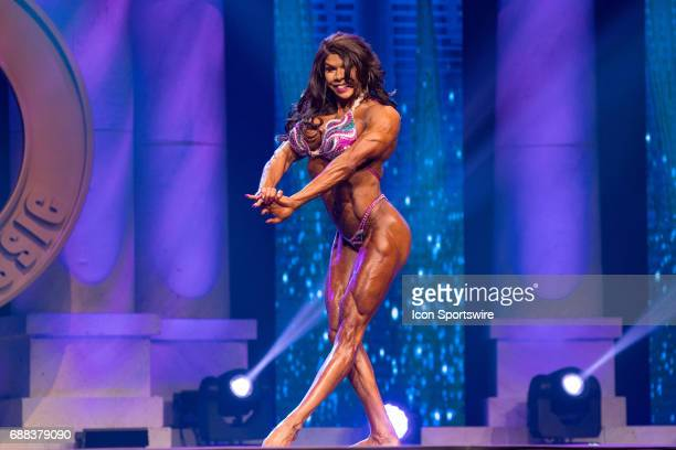 Heather Grace competes in Women's Physique International as part of the Arnold Sports Festival on March 3 at the Greater Columbus Convention Center...