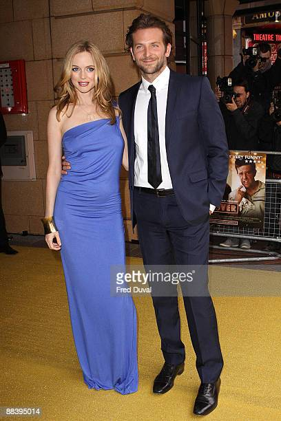 Heather Graham and Bradley Cooper attend 'The Hangover' premiere at Vue West End on June 10 2009 in London England
