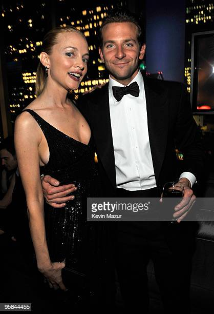 Heather Graham and Bradley Cooper attend the InStyle and Warner Bros 67th Annual Golden Globes postparty held at the Oasis Courtyard at The Beverly...