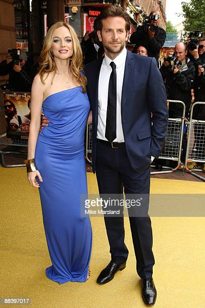 Heather Graham and Bradley Cooper attend the UK premiere of 'The Hangover' at Vue West End on June 10 2009 in London England