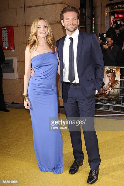 Heather Graham and Bradley Cooper attends 'The Hangover' premiere at Vue West End on June 10 2009 in London England