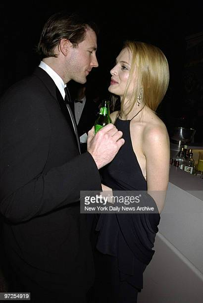Heather Graham and Edward Burns at the Costume Institute Gala Rock Style an exhibit of rock 'n' roll fashions at the Metropolitan Museum of Art