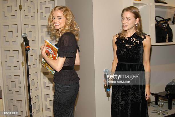 Heather Graham and Lauren Redniss attend VANITY FAIR COLE HAAN celebrate Lauren Redniss' new book CENTURY GIRL to benefit The Accompanied Library...
