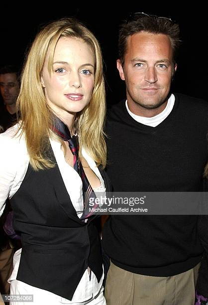 Heather Graham and Matthew Perry during Maurice Lacroix Presents The Junior League of Los Angeles 'Viva Los Angeles' Casino Night Inside at Jim...
