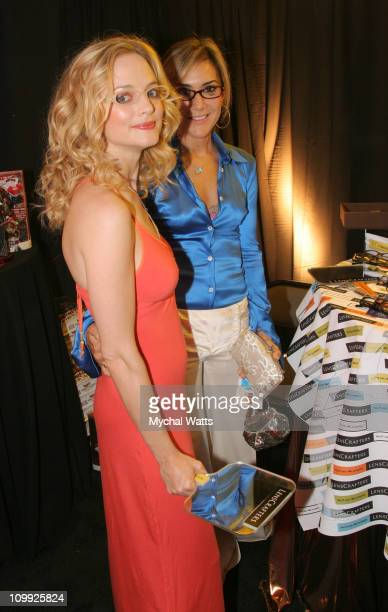 Heather Graham and Nadia Dajani during 2005 Fashion Rocks Talent Gift Lounge Produced by On 3 Productions Day 2 at Radio City Music Hall in New York...