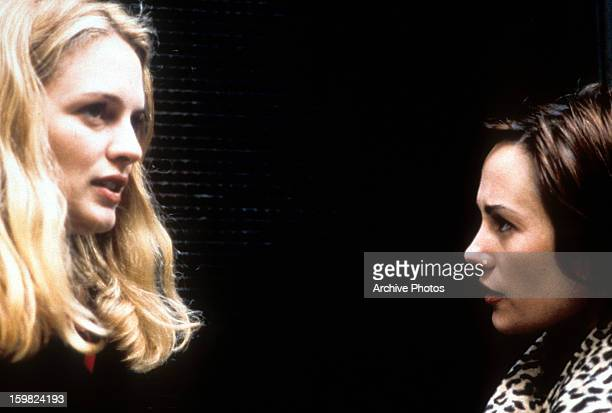 Heather Graham and Natasha Gregson Wagner in a scene from the film 'Two Girls And A Guy' 1997