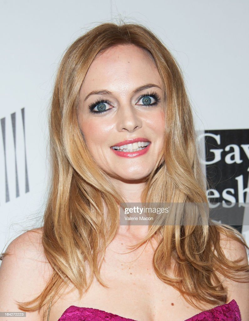 Heather Graham arrives at 'An Evening' Benefiting The L.A. Gay & Lesbian Center at the Beverly Wilshire Four Seasons Hotel on March 21, 2013 in Beverly Hills, California.