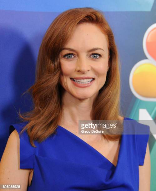 Heather Graham arrives at the 2017 Summer TCA Tour NBC Press Tour at The Beverly Hilton Hotel on August 3 2017 in Beverly Hills California