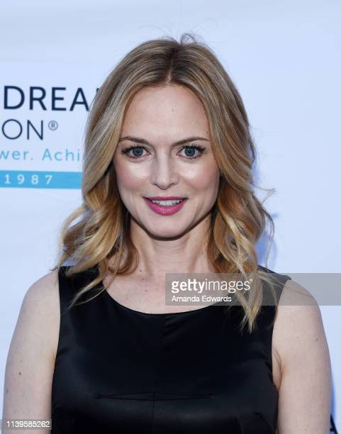 Heather Graham arrives at the 6th Annual I Have A Dream Foundation Los Angeles Dreamer Dinner Benefit at the Skirball Cultural Center on March 31...