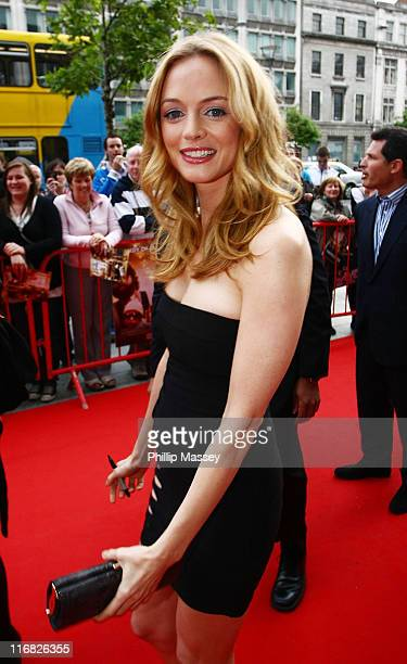 Heather Graham arrives at the Irish premiere of 'The Hangover' in the Savoy Cinema on June 8 2009 in Dublin Ireland