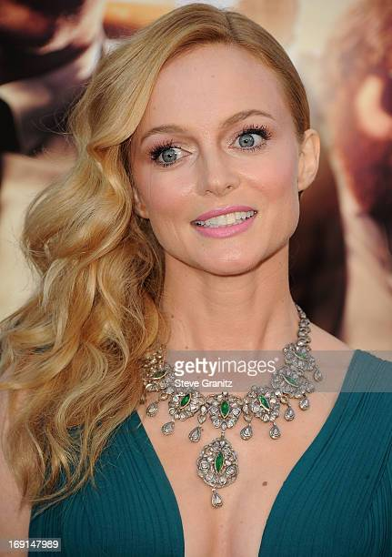 """Heather Graham arrives at the """"The Hangover III"""" - Los Angeles Premiere at Mann's Village Theatre on May 20, 2013 in Westwood, California."""