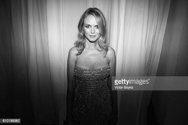 Heather Graham attends amfAR Milano 2016 afterparty at La Permanente on September 24 2016 in Milan Italy