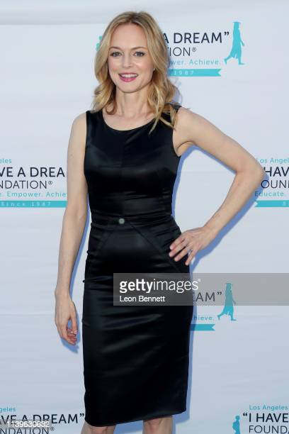 Heather Graham attends I Have A Dream Foundation Los Angeles Hosts 6th Annual Dreamer Dinner Benefit at Skirball Cultural Center on March 31 2019 in...