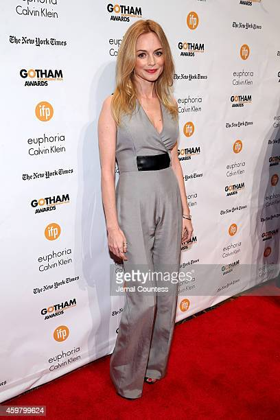 Heather Graham attends IFP's 24th Gotham Independent Film Awards at Cipriani Wall Street on December 1 2014 in New York City