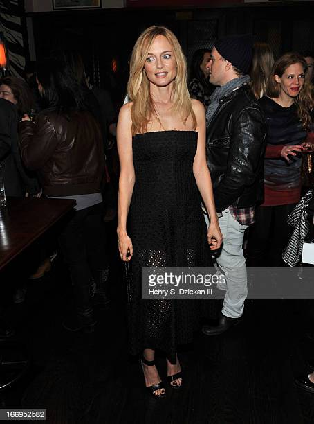 """Heather Graham attends the after party for the Cinema Society & Bally screening of Sony Pictures Classics' """"At Any Price"""" at Clarkson on April 18,..."""