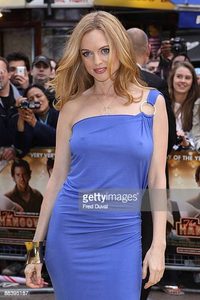 Heather Graham attends 'The Hangover' premiere at Vue West End on June 10 2009 in London England