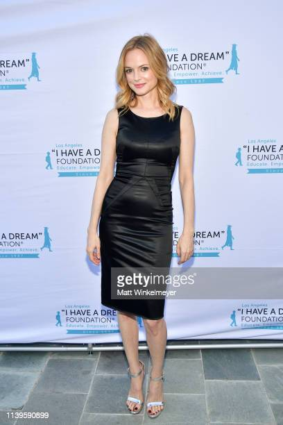 Heather Graham attends the I Have A Dream Foundation Los Angeles hosts 6th annual Dreamer Dinner Benefit at Skirball Cultural Center on March 31 2019...