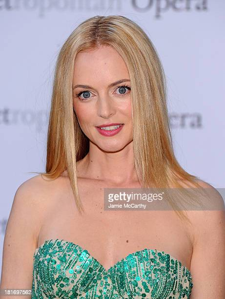 Heather Graham attends the Metropolitan Opera Season Opening Production Of Eugene Onegin at The Metropolitan Opera House on September 23 2013 in New...