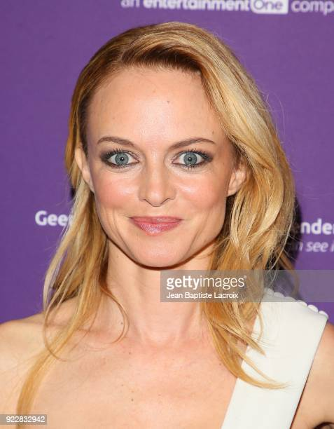 Heather Graham attends the premiere of Momentum Pictures' 'Half Magic' at The London West Hollywood on February 21 2018 in West Hollywood California