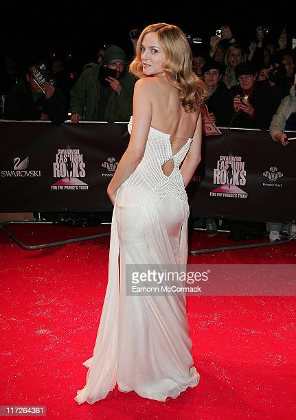 Heather Graham attends the Swarovski Fashion Rocks a the the Royal Albert Hall on October 18 2007 in London England