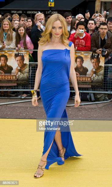 Heather Graham attends the UK Premiere of 'The Hangover' at Vue West End on June 10th 2009 in London England