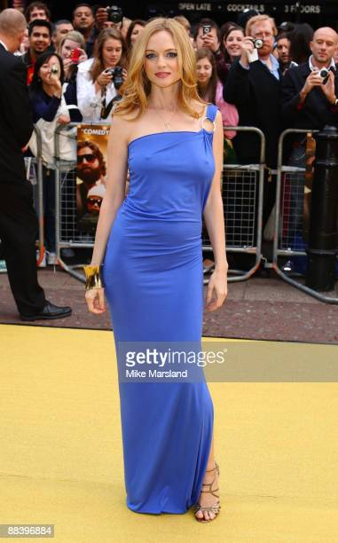 Heather Graham attends the UK premiere of 'The Hangover' at Vue West End on June 10 2009 in London England