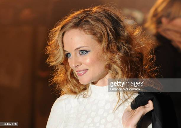 Heather Graham attends the World Premiere of Sherlock Holmes at Empire Leicester Square on December 14 2009 in London England