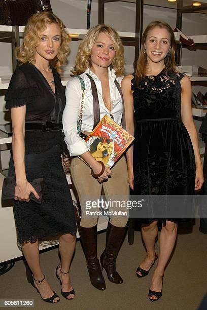 """Heather Graham, Brooke Geahan and Lauren Redniss attend VANITY FAIR & COLE HAAN celebrate Lauren Redniss' new book """"CENTURY GIRL"""" to benefit The..."""