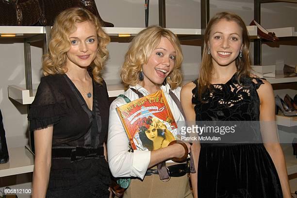 Heather Graham Brooke Geahan and Lauren Redniss attend VANITY FAIR COLE HAAN celebrate Lauren Redniss' new book CENTURY GIRL to benefit The...