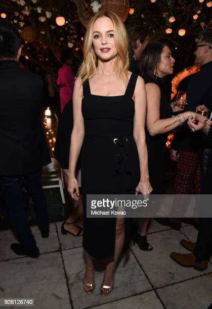 Heather Graham celebrates with Belvedere Vodka at Vanity Fair and Lancome Paris Toast Women in Hollywood hosted by Radhika Jones and Ava DuVernay on...