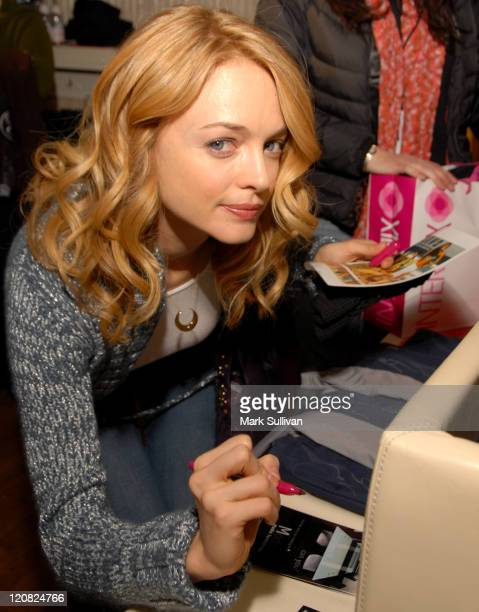 Heather Graham during 2007 Park City Backstage Creations Retreat at the Premiere Film Music Lounge on Main Street Day 4 at Premiere Lounge in Park...