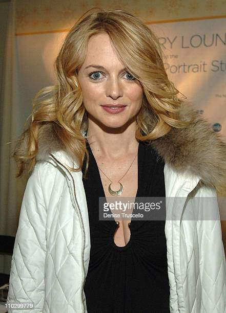 Heather Graham during 2007 Park City Luxury Lounge Day 3 at Media Placement Luxury Lounge in Utah United States