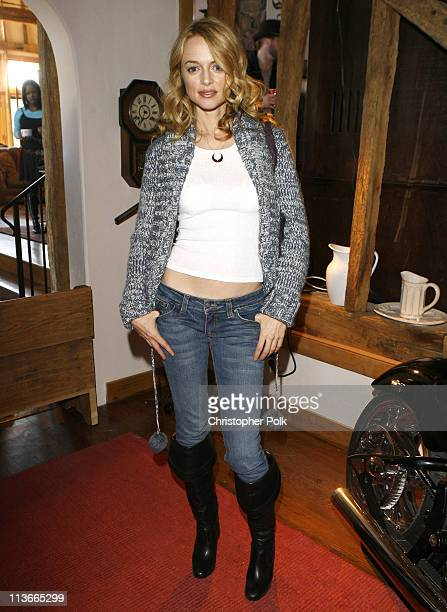 Heather Graham during 2007 Park City WNWN Magazine Presents a Supper with Heather Graham at 1403 Eagle Way in Park City Utah United States