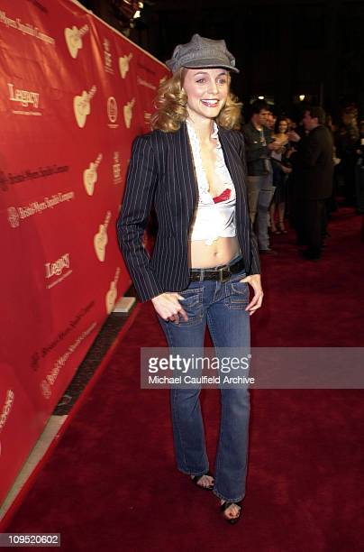 Heather Graham during First Annual Entertainment Industry Foundation Love Rocks Concert to Honor U2's Bono and Launch EIF'S National Cardiovascular...