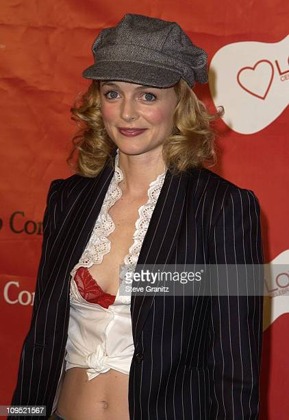 """Heather Graham during First Annual Entertainment Industry Foundation """"Love Rocks"""" Concert to Honor U2's Bono and Launch EIF'S National Cardiovascular..."""