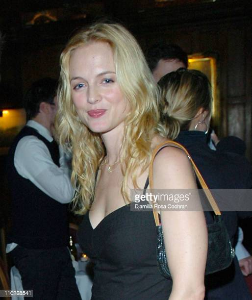 Heather Graham during Jimmy Fallon's Birthday Party - September 24, 2005 at The National Arts Club in New York City, New York, United States.
