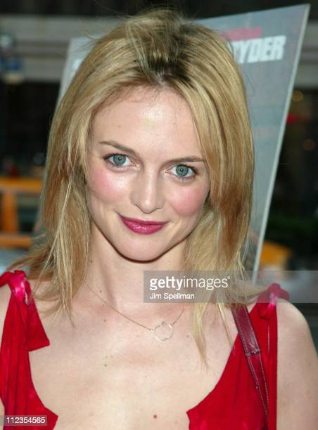 Heather Graham during 'Mr Deeds' Premiere at Loews Lincoln Square in New York City New York United States