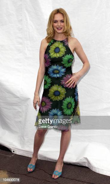 Heather Graham during The 17th Annual IFP/West Independent Spirit Awards Backstage at Santa Monica Beach in Santa Monica California United States