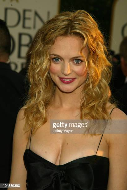 Heather Graham during The 60th Annual Golden Globe Awards Arrivals at The Beverly Hilton Hotel in Beverly Hills California United States