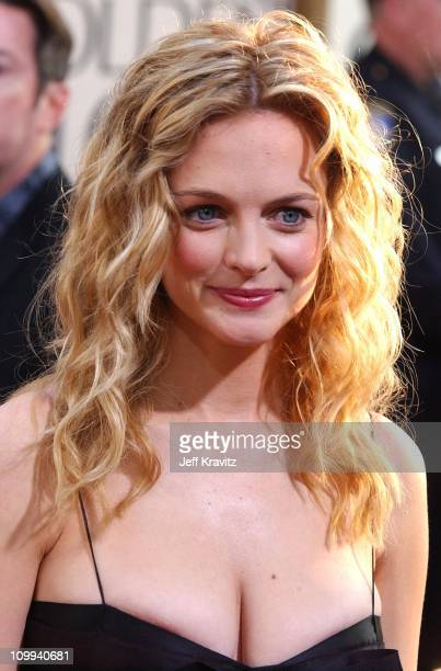 Heather Graham during The 60th Annual Golden Globe Awards Arrivals at Beverly Hilton Hotel in Beverly Hills CA United States