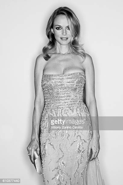 Heather Graham poses for a portrait during amfAR Milano 2016 at La Permanente on September 24 2016 in Milan Italy