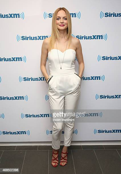 Heather Graham visits at SiriusXM Studios on April 3 2015 in New York City