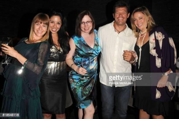 Heather Harmon Veronica Fernandez Mary Leigh Cherry Peter Blake and Philae Knight attend ASPEN ART MUSEUM hosts artCRUSH 2010 AFTERPARTY at Syzygy...